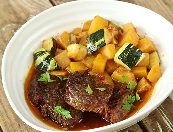 Keto Crockpot Recipes Vegetable Beef Stew