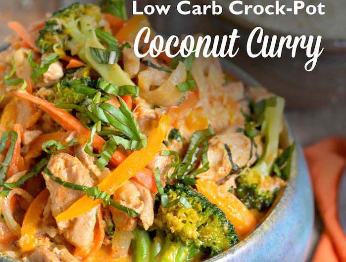 Low Carb Coconut Curry Keto Crockpot Recipes