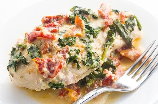 Creamy Tuscan Garlic Chicken Keto Crockpot Recipes