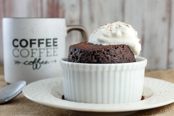 Keto Dessert Chocolate Mug Cake