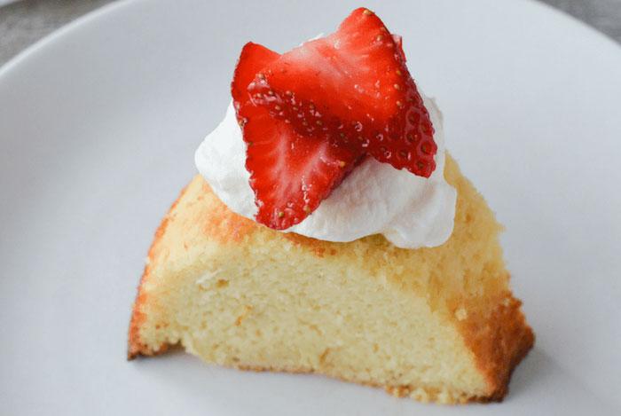 Keto Dessert Pound Cake