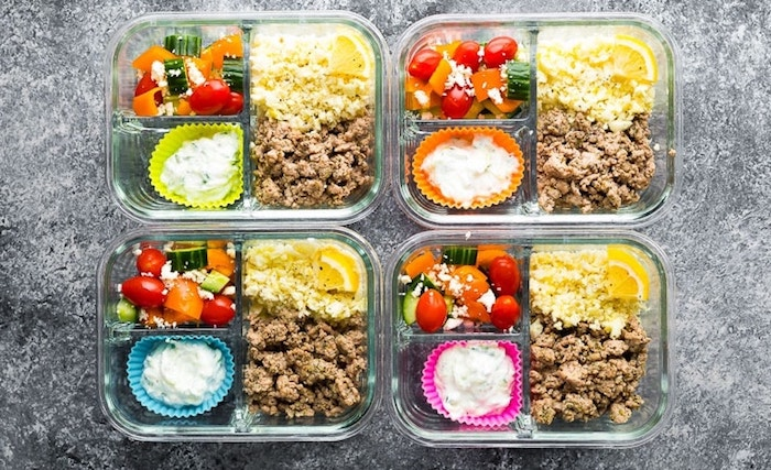 Low carb Greek turkey keto meal prep recipe