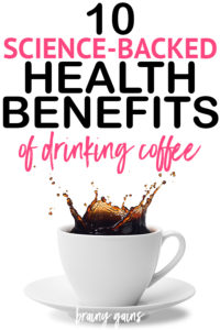 Coffee is the third most popular drink in the world behind water and tea. Aside from it's deliciously addicting flavor and magical energizing properties, there are actually tons of health benefits of coffee. Here are 10 of the best health benefits of drinking coffee.