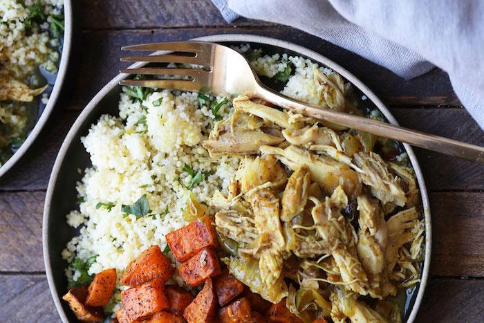 Instant Pot Moroccan Chicken Meal Prep Recipes