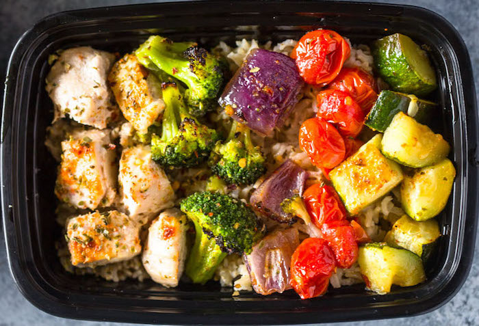 Roasted Chicken and Veggies Chicken Meal Prep Recipe