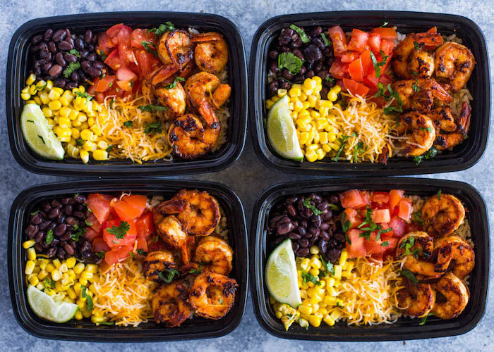 Shrimp Prep Bowls Meal Prep Recipes