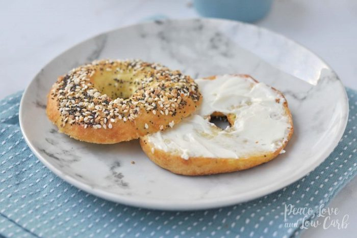 Low Carb Keto Bread Everything Bagels