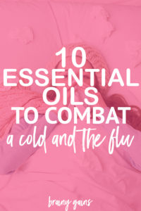 Looking for some natural cold remedies to fight winter sickness? Here you'll find winter cold remedies in 10 of the best essential oils for colds, essential oils for cough, essential oils for sore throat, essential oils for fever, and essential oils for sinus infection.