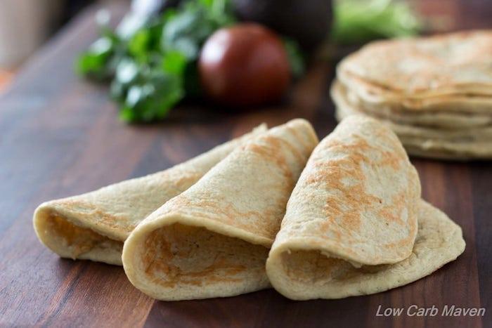 Keto Bread Low Carb Wraps