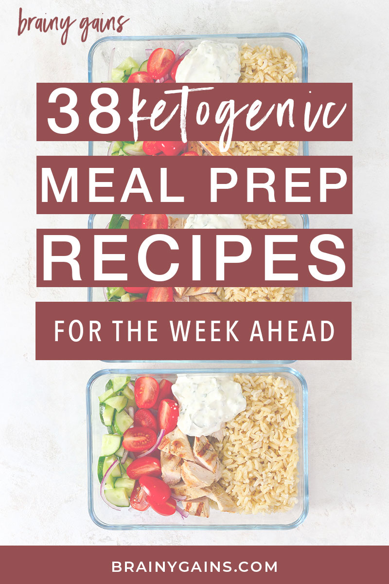 Got a busy week ahead of you? Check out these easy keto meal prep recipes. They're delicious, low carb, and will keep you in ketosis. They're especially great for lunch on the go! #keto #mealprep #lowcarbrecipes #dinnerideas