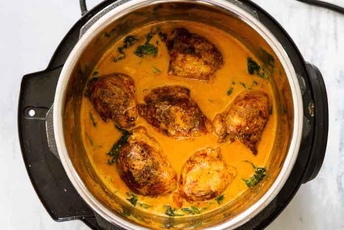 Garlic Paprika Keto Instant Pot Chicken Thighs