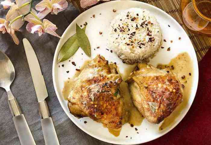 Keto Instant Pot Filipino Chicken Adobo