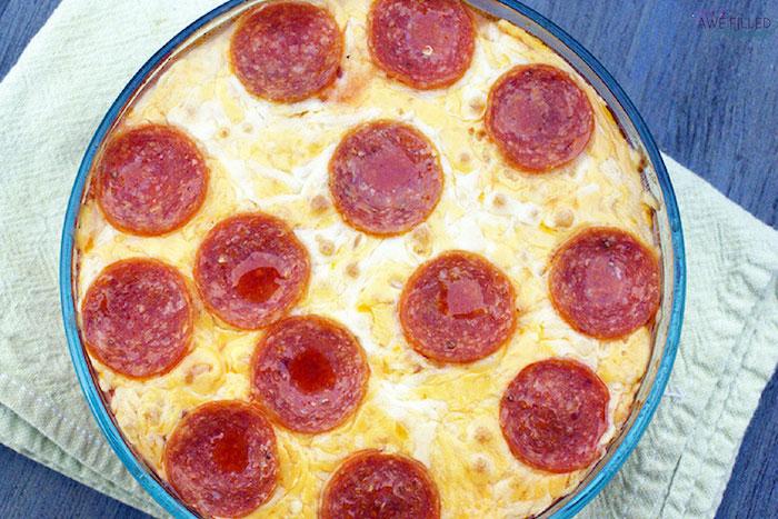 Keto Instant Pot Pizza Casserole
