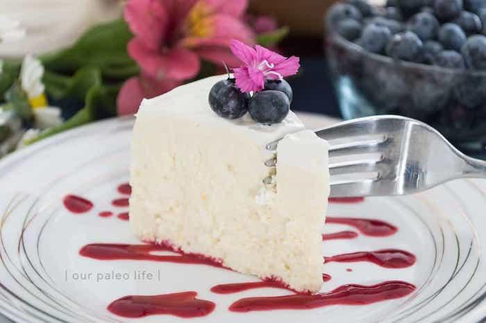 Keto Instant Pot Cheesecake
