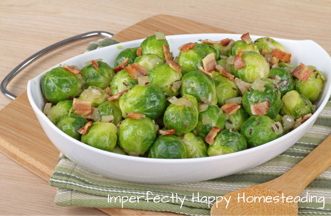 Keto Instant Pot Brussels Sprouts