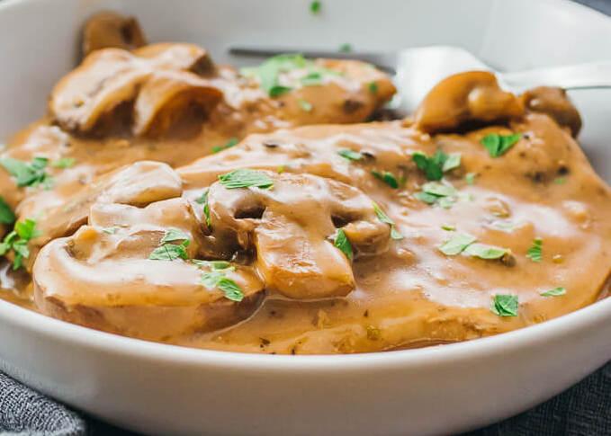 Keto Instant Pot Chicken Marsala
