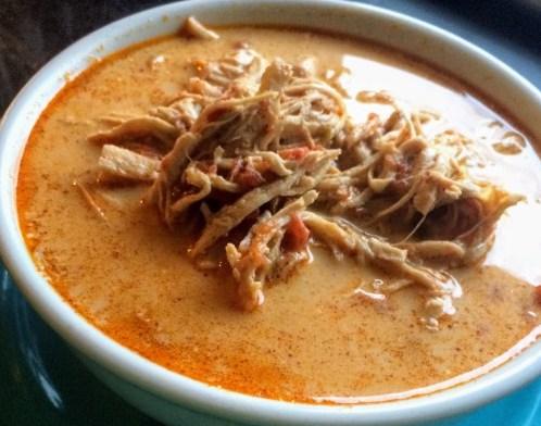 Keto Instant Pot Chicken Taco Soup Recipe
