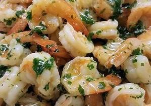 Keto Instant Pot Shrimp Scampi