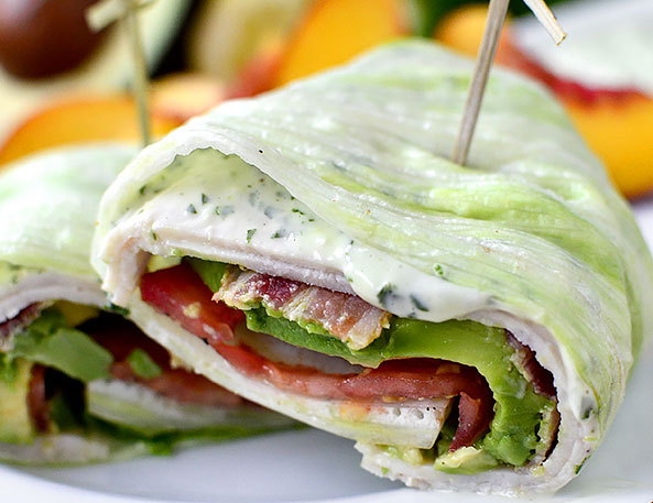 California Turkey Lettuce Wrap Paleo Meal Prep