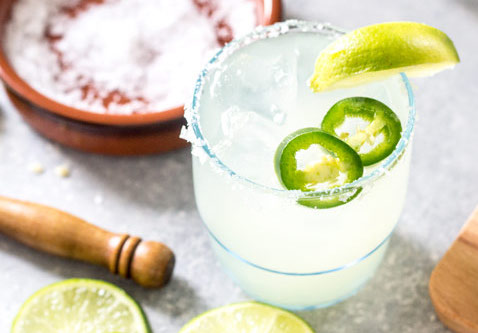 Spicy Margaritas Low Carb Alcoholic Drinks