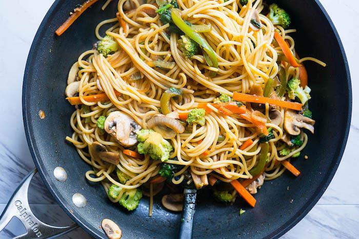 Vegetable Lo Mein Vegan Dinner Recipes