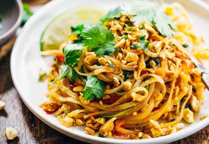 Vegetarian Dinner Recipes Pad Thai