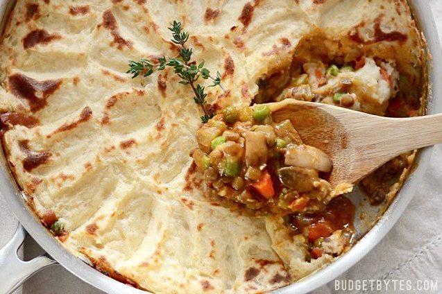 Vegetarian Dinner Recipes Shepherd's Pie