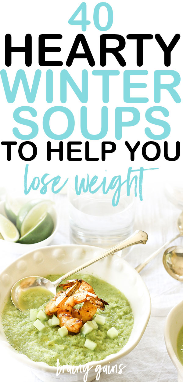 It's officially the holiday season, and you know what that means: time to whip up some hearty, healthy soup recipes. These 40 easy healthy soup recipes are the perfect place to start!