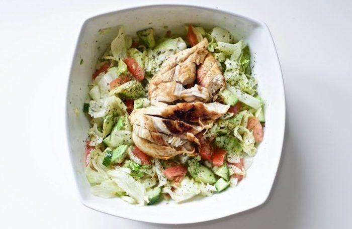 Blackened Chicken Avocado Salad Paleo Meal Prep