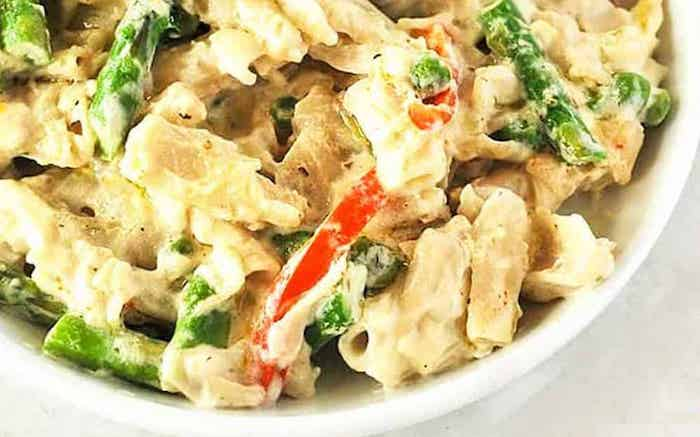 Creamy Alfredo with Vegetables to Make for a Delicious Vegan Dinner Recipes