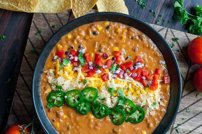 Easy Creamy Vegetarian Dinner Recipes Lentil Tortilla Soup