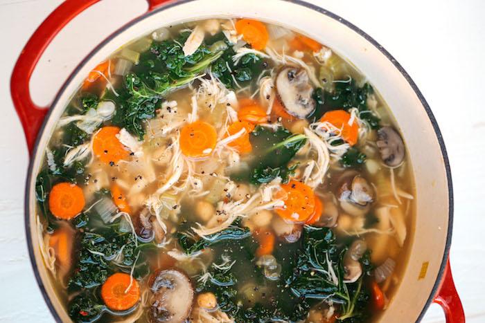 Chicken Detox Healthy Soup Recipes
