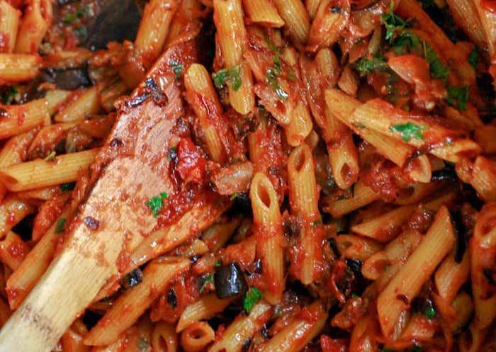 Eggplant Pasta Vegan Dinner Recipes