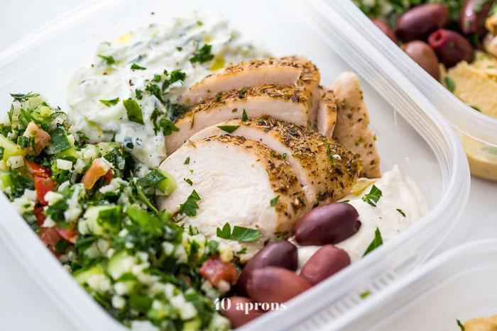 Greek Healthy Paleo Meal Prep