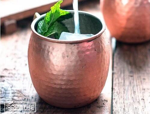 Moscow Mule Low Carb Alcoholic Drinks