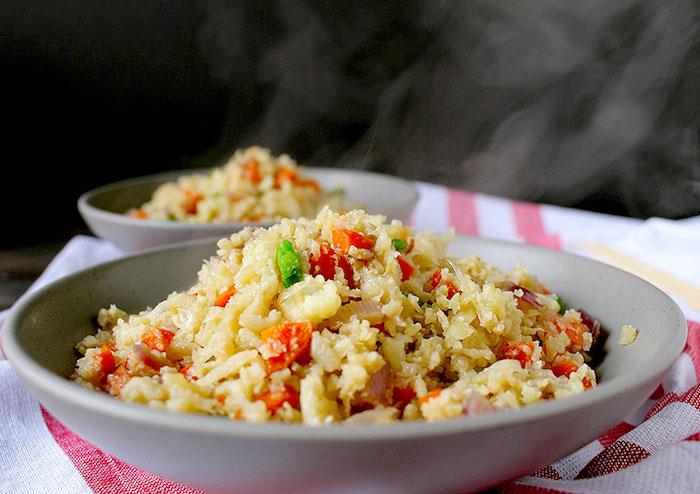 Paleo Meal Prep Cauliflower Fried Rice