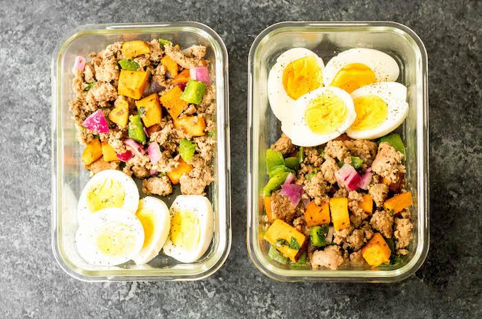 Paleo Meal Prep Turkey Breakfast Skillet
