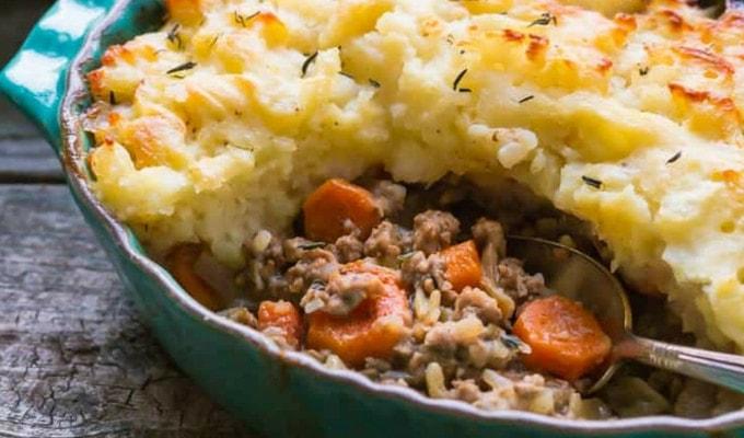 Shepherds Pie Paleo Meal Prep