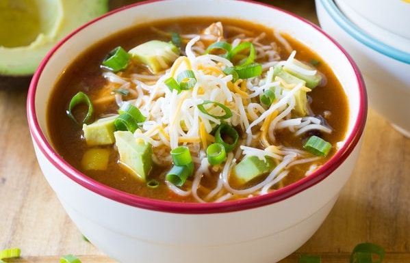 Skinny Chicken Fajita Healthy Soup Recipes