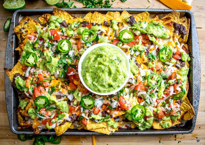 Spicy Black Bean Nachos Vegetarian Dinner Recipes