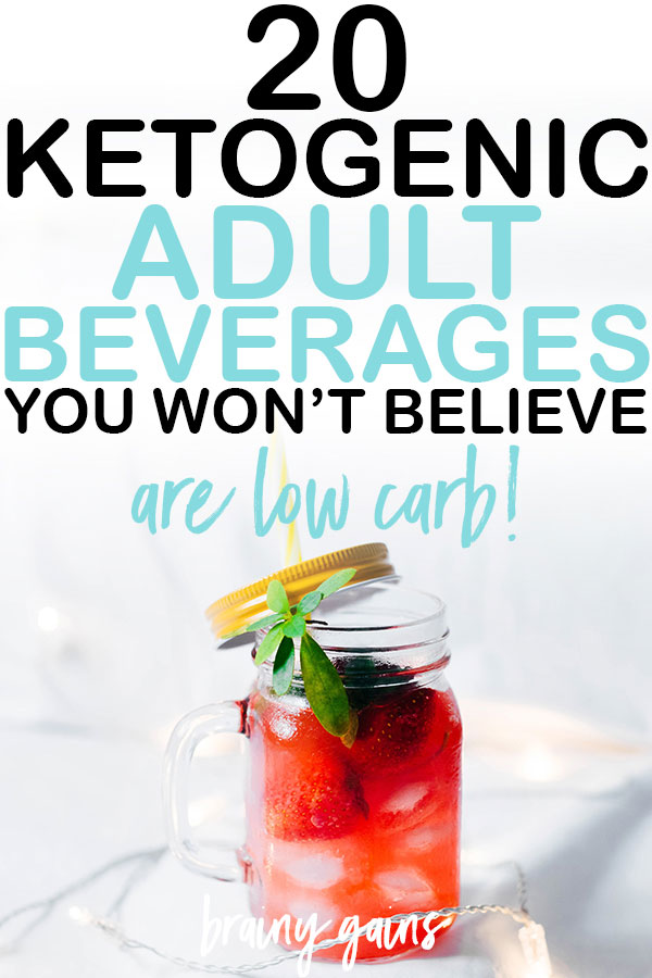 Even though most alcoholic drinks contain ridiculous amounts of carbs, mainly due to the high sugar contents, these low carb versions are still pretty spot on in terms of flavor but without all the carbs. Don't believe me? Check out these awesome sugar free low carb alcoholic drinks recipes and give them a try.