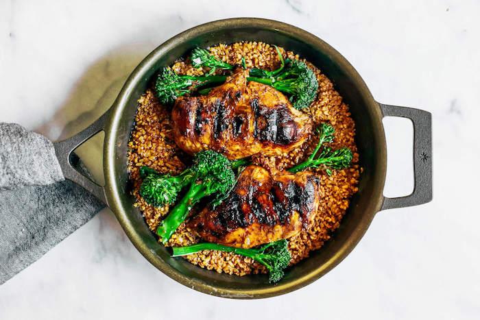 Thai Chicken Cauliflower Rice Paleo Meal Prep Recipe