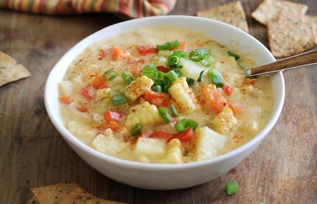 Vegan Dinner Recipes Corn Chowder