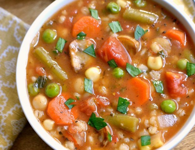 Vegetable Barley Healthy Soup Recipes