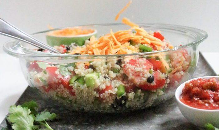 Vegetarian Dinner Recipes Quinoa Taco Salad