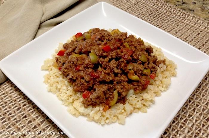 Keto Meal Prep Picadillo