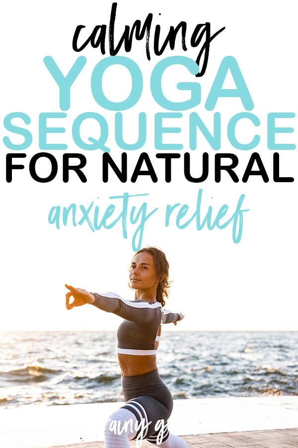 Letting go of anxiety can be challenging. Not because you don't want to, but because you don't know how. By starting a yoga practice of your own and incorporating these yoga poses for anxiety, you'll start to feel that worry melt away. It's time to say goodbye to anxiety and helloooo to your true self.