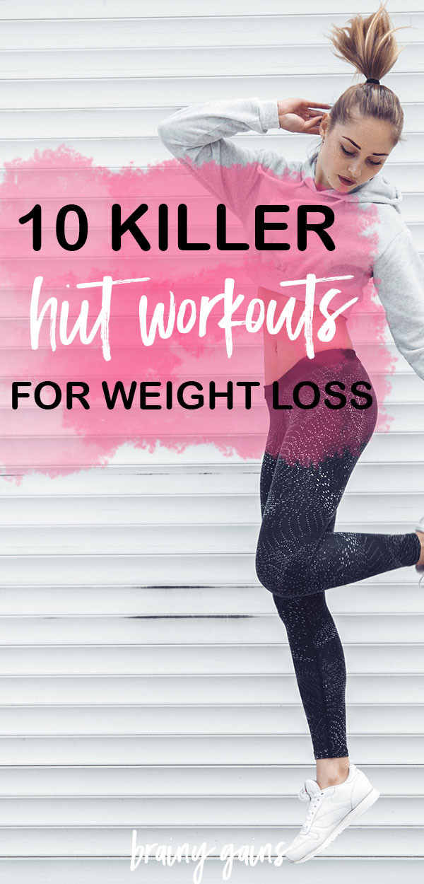 HIIT is probably THE best (and easiest) way to get into the routine of giving your body the nourishing movement it needs in as little time as possible. So the next time you need a good sweat, give some (or all) of these fat burning HIIT workouts a try!