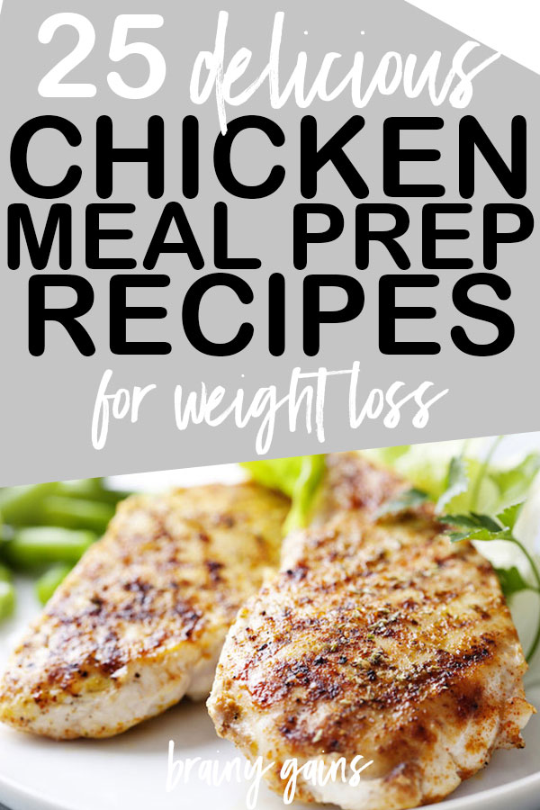 Whether you're an avid follower of #mealprepsunday or meal prep is entirely new to you, it's a tool you should have under belt. Let these healthy chicken meal prep recipes for weight loss (or gains) show you just how tasty meal prepping can be!