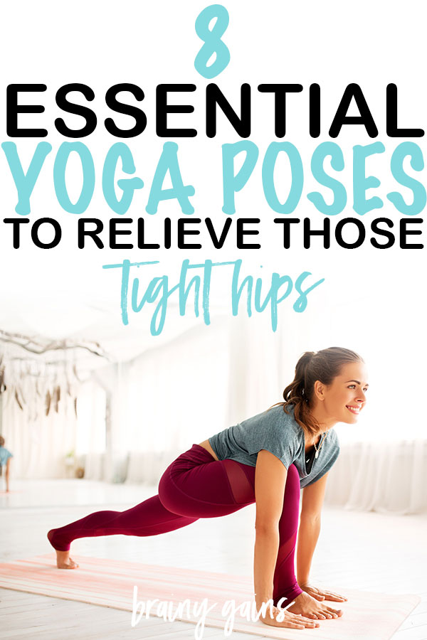 Yoga is a great tool for stretching and releasing tight muscles. There are numerous yoga poses that specifically focus on increasing flexibility and mobility in the hips, like these 8 best hip opening yoga poses! #hipopeningyoga